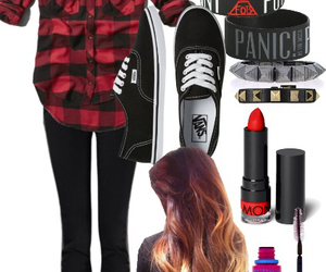 fashion, outfit, and panic! at the disco image