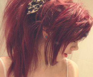 alternative, hair, and red hair image