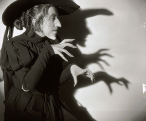 Wizard of oz, witch, and black and white image