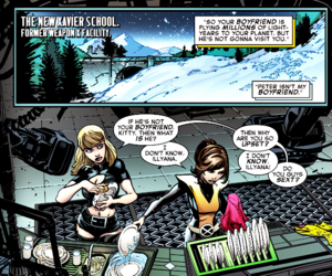 kitty pryde, magik, and star lord image