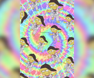 hippie, the simpsons, and wallpaper image