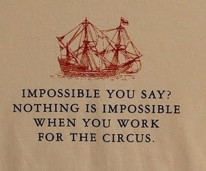 circus, impossible, and ship image