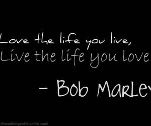 bob marley, quote, and reggae image