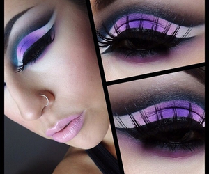 goth, makeup, and gothic image