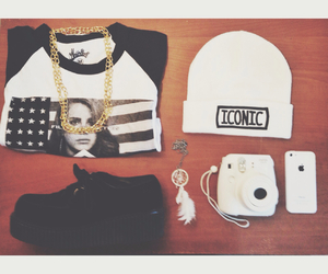 beanie, Bershka, and black image