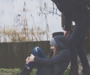 love, couple, and if i stay image