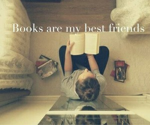 book, friends, and best friends image