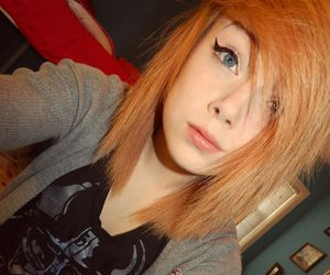 dyed hair, orange hair, and taylor terminate image