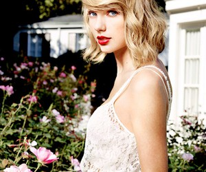 Taylor Swift, 1989, and flowers image