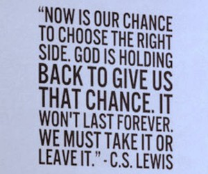 chance to choose and god side image