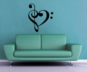 decal, heart, and decoration image