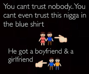 funny, trust, and boyfriend image