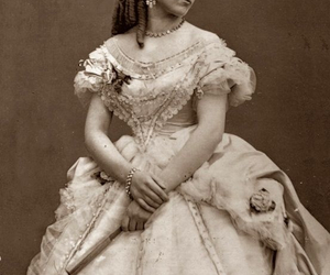 classic, dress, and victorian dress image
