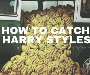 banana, lol, and Harry Styles image