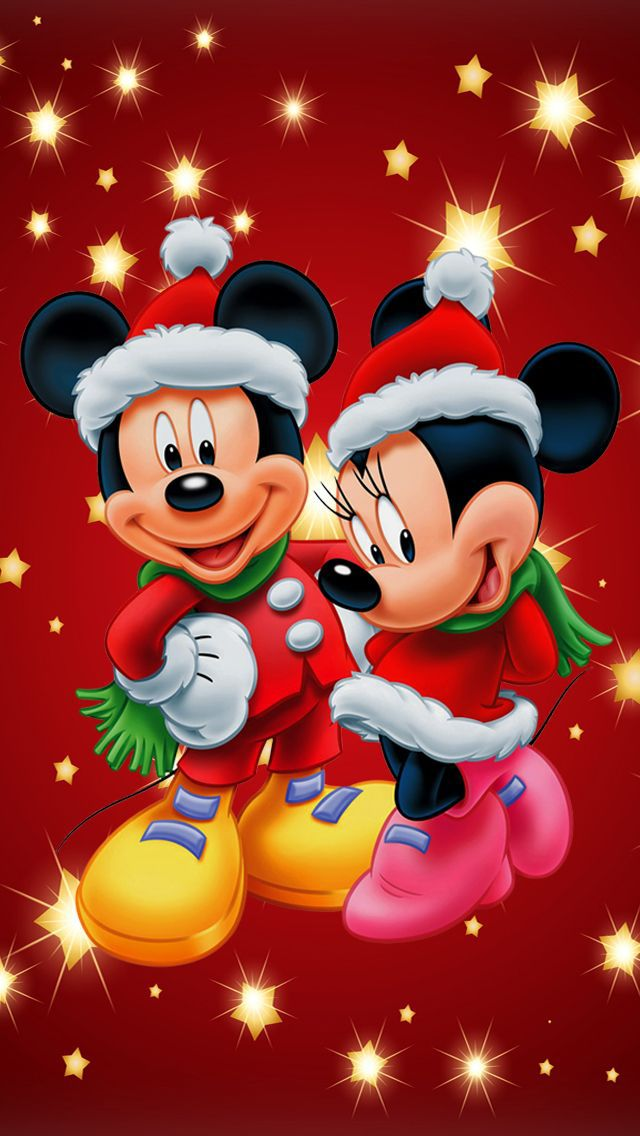 Christmas Disney Iphone Hd Wallpaper On We Heart It