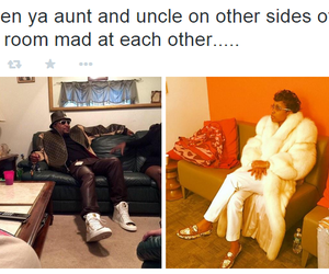 aunt, family, and tweet image