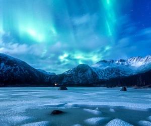 beautiful, ice, and nature image