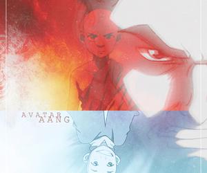 avatar, airbender, and aang image