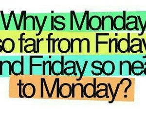 !, monday, and true image