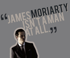 bbc, moriarty, and sherlock image