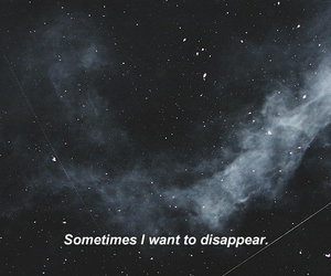 alone, disappear, and hate image