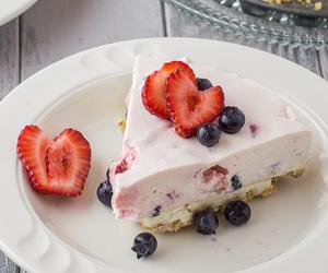 berries, cake, and cheesecake image