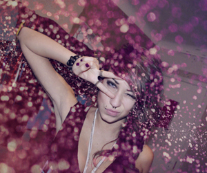 girl, glitter, and piercing image