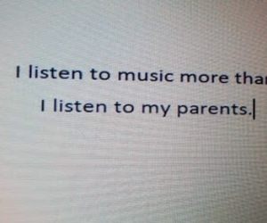 music, parents, and true image