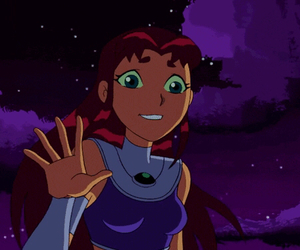 teen titans and starfire image