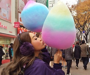cotton candy and pearypie image