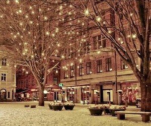 christmas, wintet, and snow image