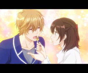 anime, couple, and shoujo image