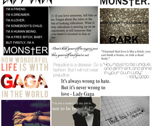 Lady gaga, music, and quotes image