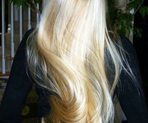 blonde and pretty girl image