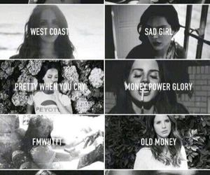 lana del rey, ultraviolence, and song image