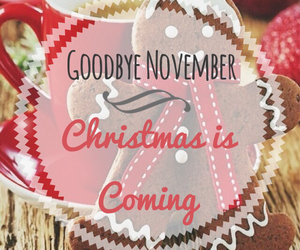 christmas, goodbye, and november image