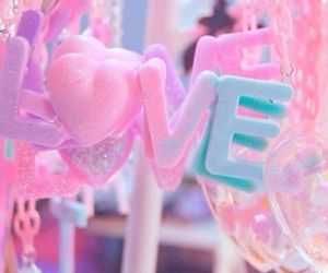 pink, love, and cute image