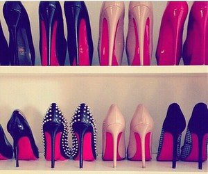 heels, redbottoms, and louboutins image