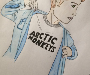 alex turner, arctic monkeys, and draw image