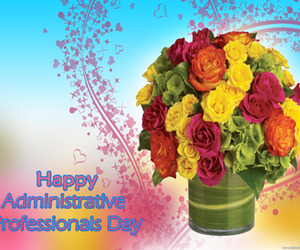 desktop wallpaper, flowers, and special day image