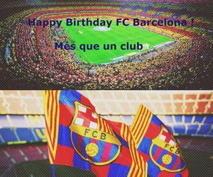 Barca, birthday, and fc barcelona image