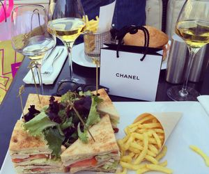chanel, food, and drinks image