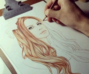 lana del rey, drawing, and art image