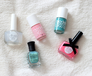 nails, cute, and nail polish image
