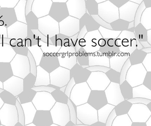 football, girl, and soccer girls problems image