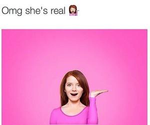 emoji, pink, and funny image
