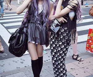 girl, pastel goth, and fashion image