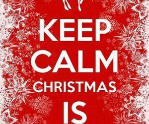 christmas, keep calm, and snow image