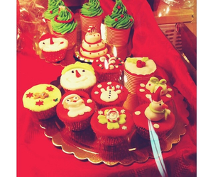 amazing, christmas, and cupcake image