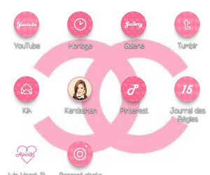 chanel, girly, and pink image